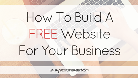 building a website for your business, create a free website for your business, website for your business
