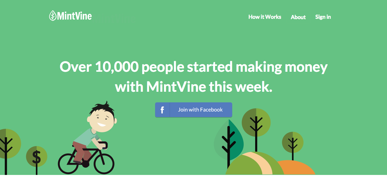 mintvine review, make money online with surveys, mintvine make money online