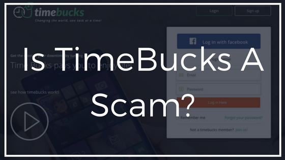 is timebucks a scam