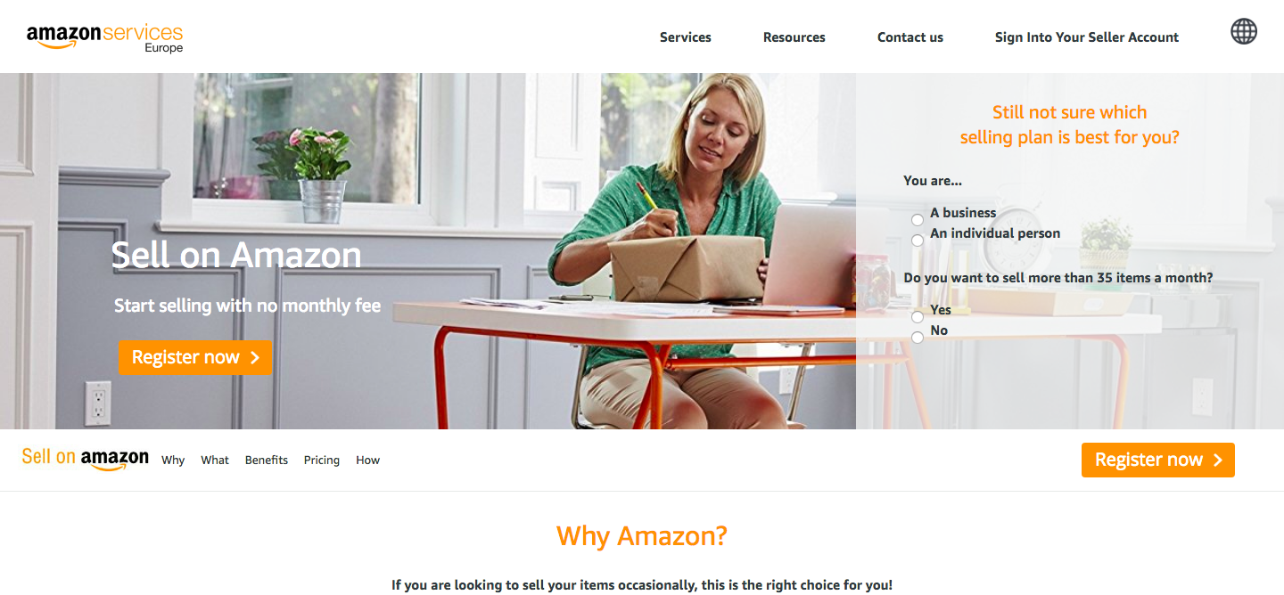 ways to make money online with amazon seller central