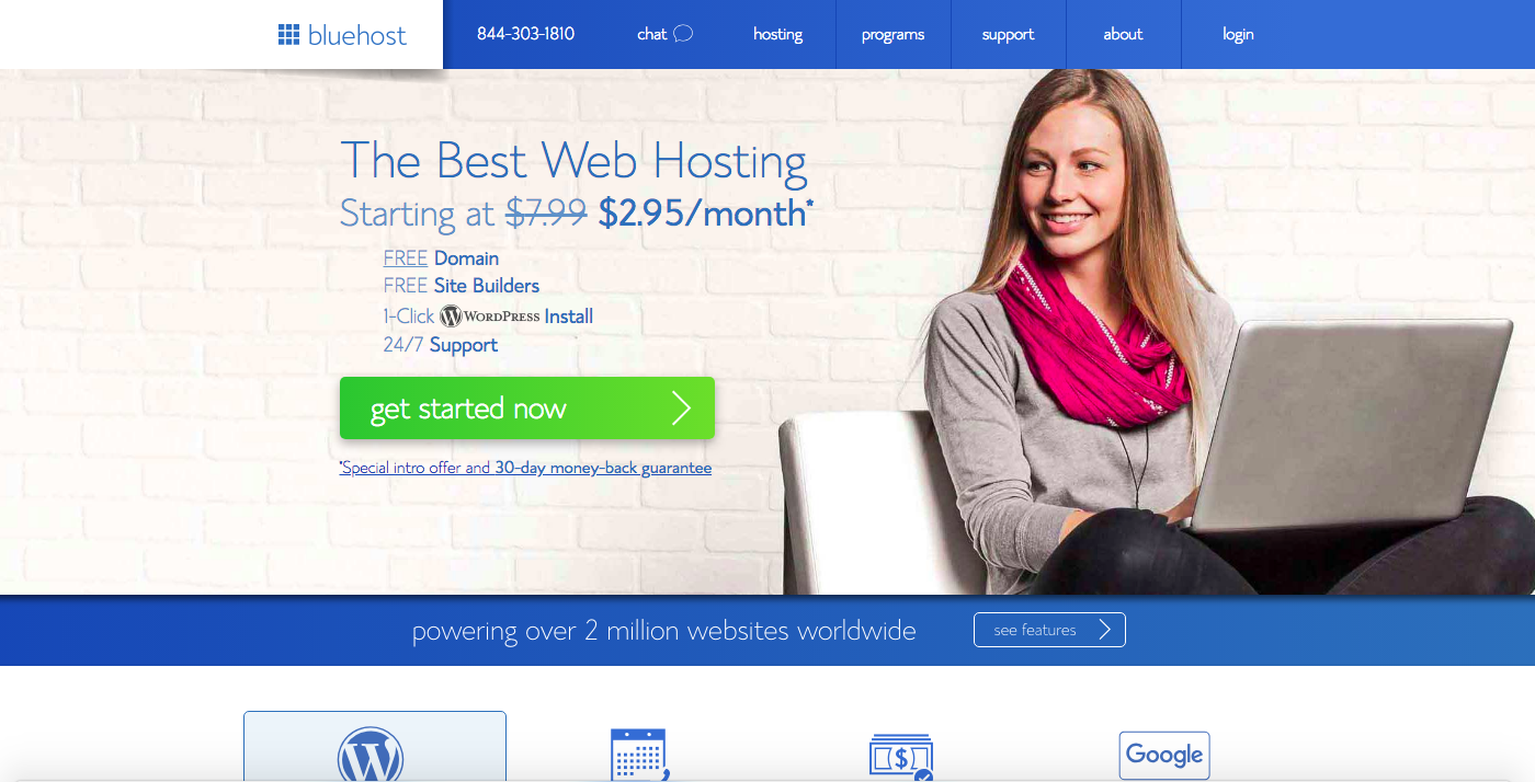the best affiliate programs to promote bluehost
