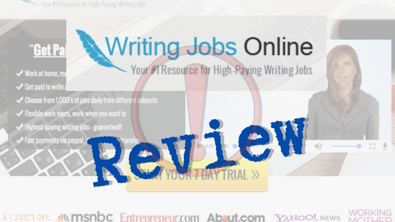 Highest paying writing jobs