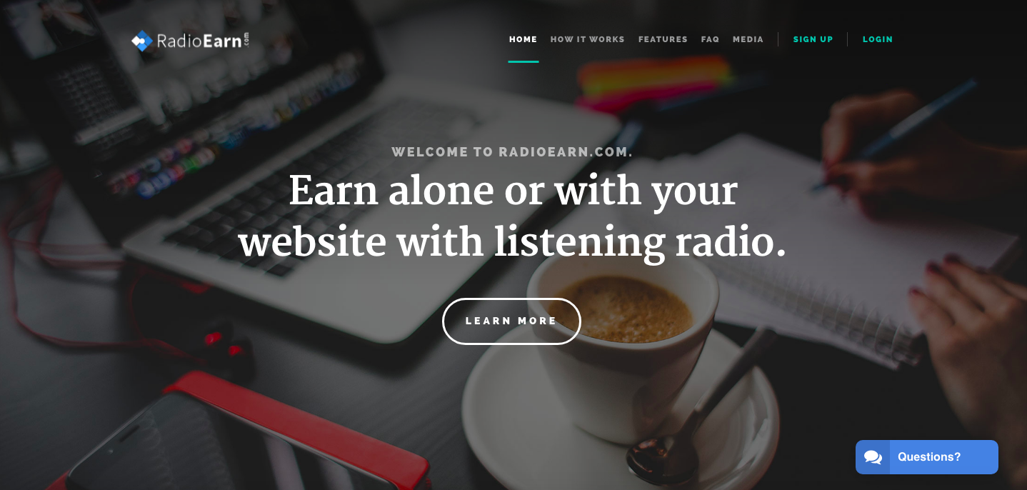 get paid by listening to music online radioearn