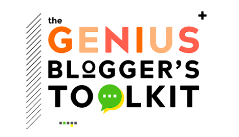 the genius blogger's toolkit logo