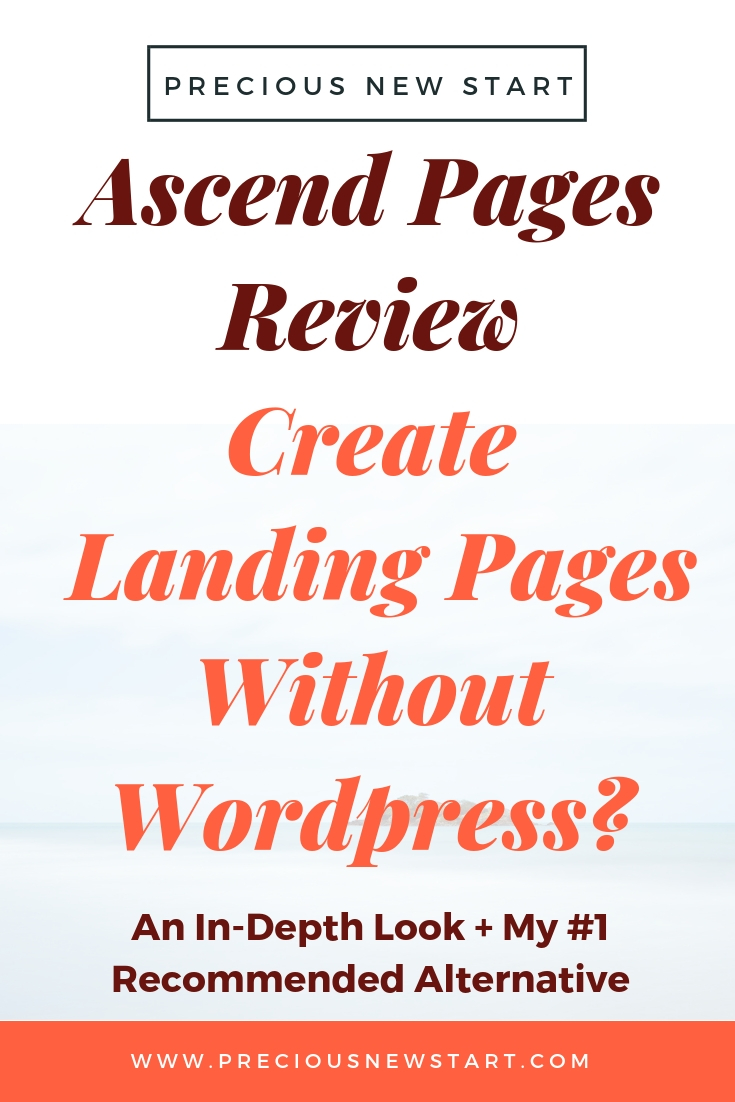 ascend pages review and why it's not my recommended best web page builder software online