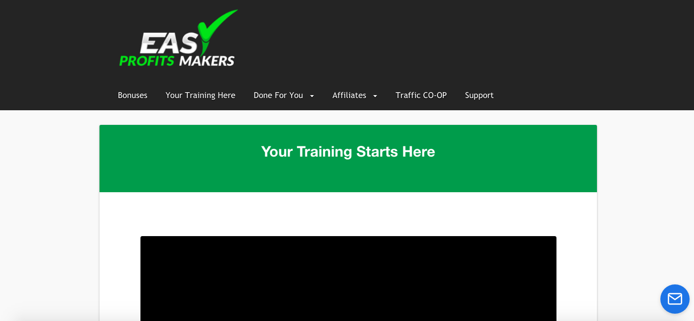 easy profits makers review training