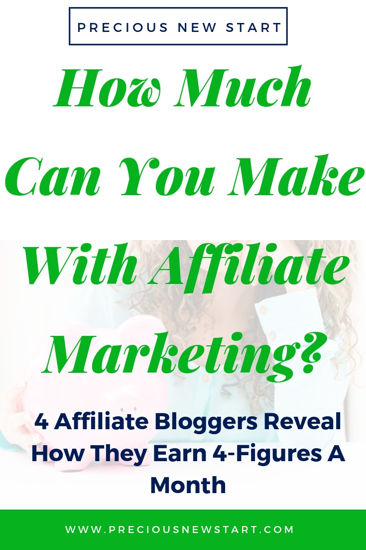 how much money can you earn using affiliate marketing online