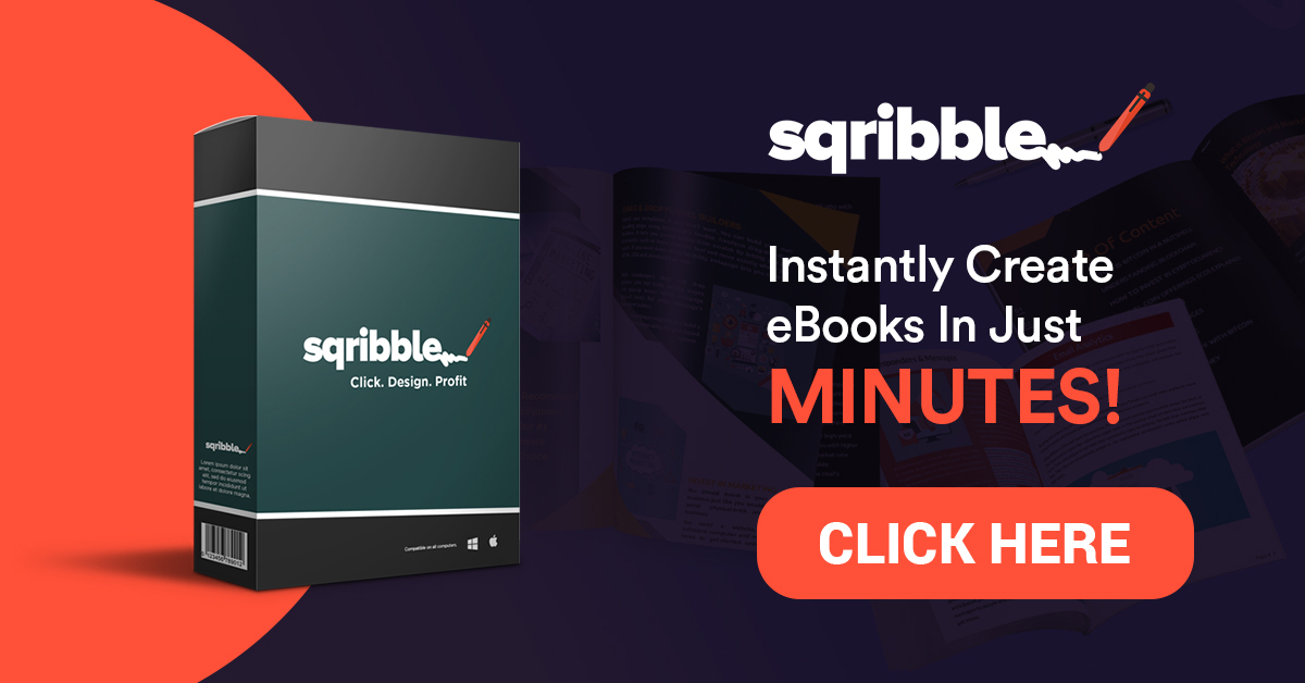 sqribble software to create an ebook
