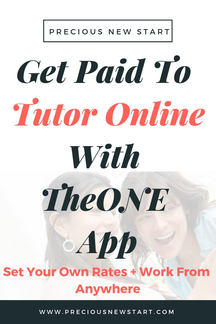 Get Paid To Tutor Online With TheONE App