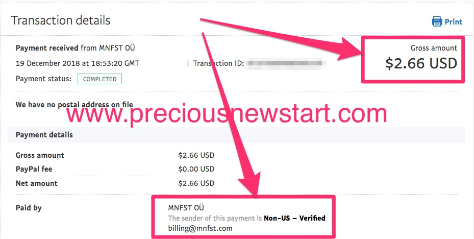 get paid through social media with manifest app mnfst app payment proof 1