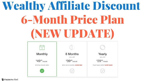 wealthy affiliate discount update