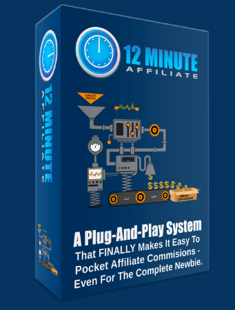 Cheap  Affiliate Marketing 12 Minute Affiliate System Under 100