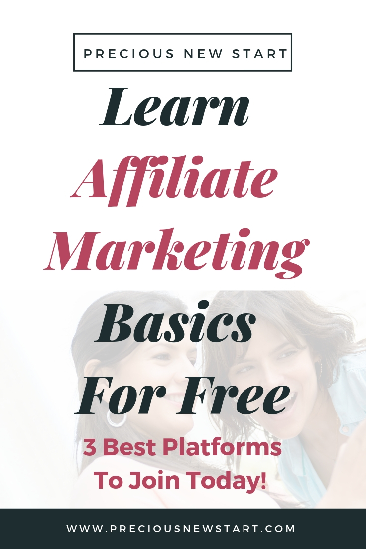 learn affiliate marketing basics for free pin