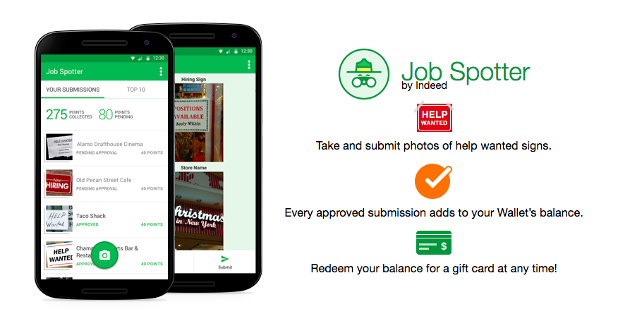 job spotter app review indeed