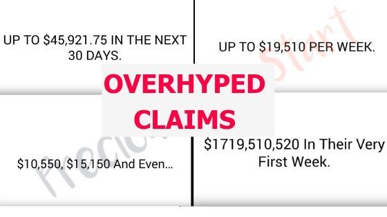 secret profit club review overhyped income claims