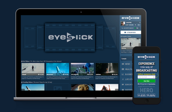 eyeslick review platform icon