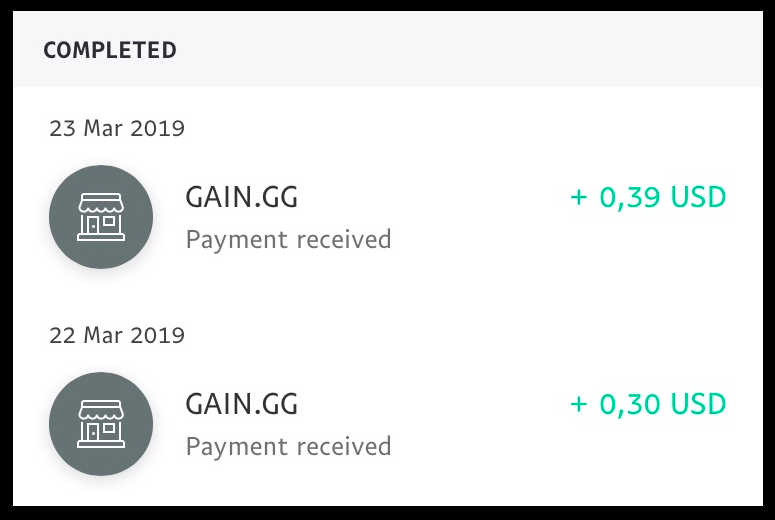 gain.gg review payment proof 1