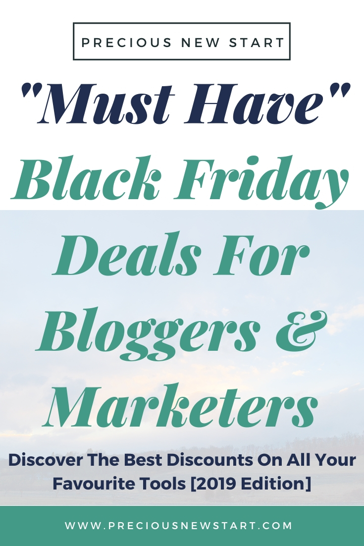 The Best Black Friday Deals For Bloggers & Internet Marketers [For 2019]. Discover The Best Discounts On Your Favourite Tools