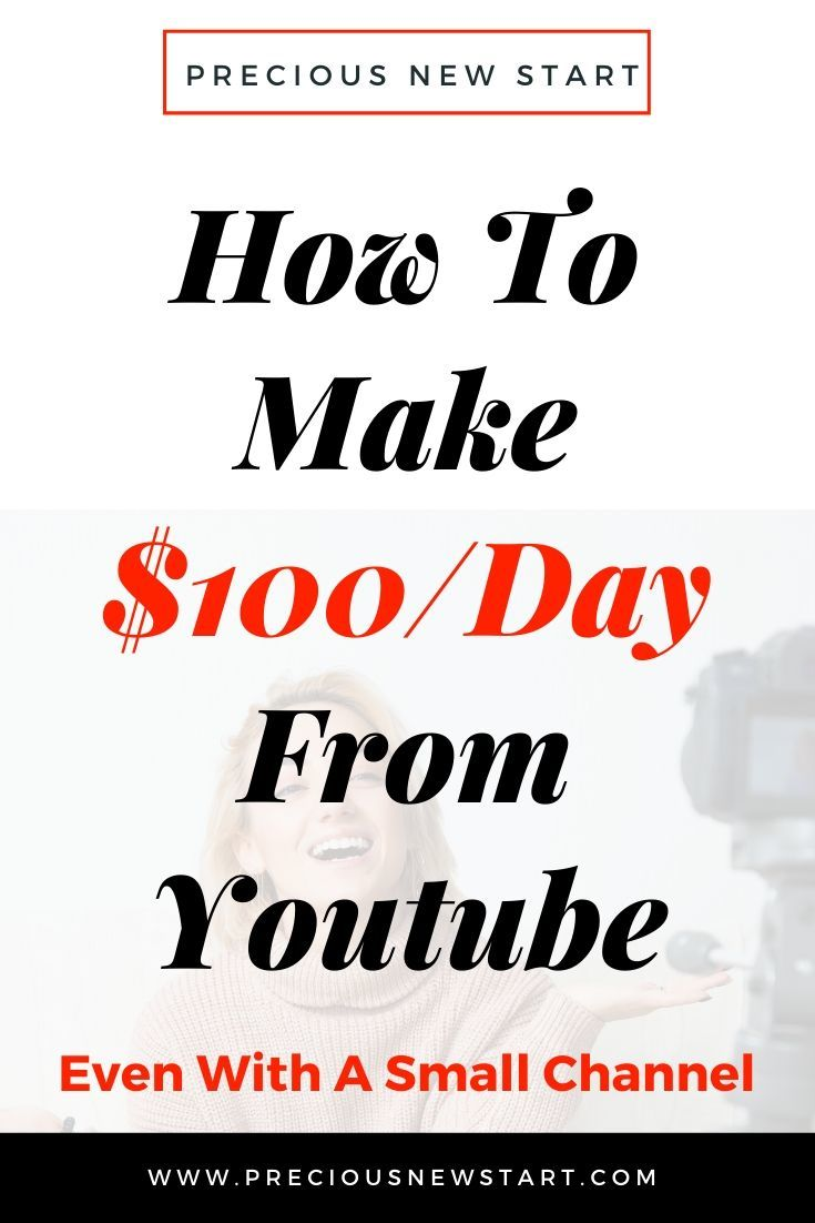 How To Make Money Online From Youtube - $100 A Day - Discover the 4 BEST strategies on how to make money online from Youtube...even with a small channel. Got the passion and drive?! Click through to learn more