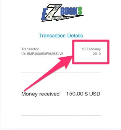 ez bucks review - fake payment proof