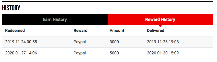 is grabpoints a legit rewards sites payment proof