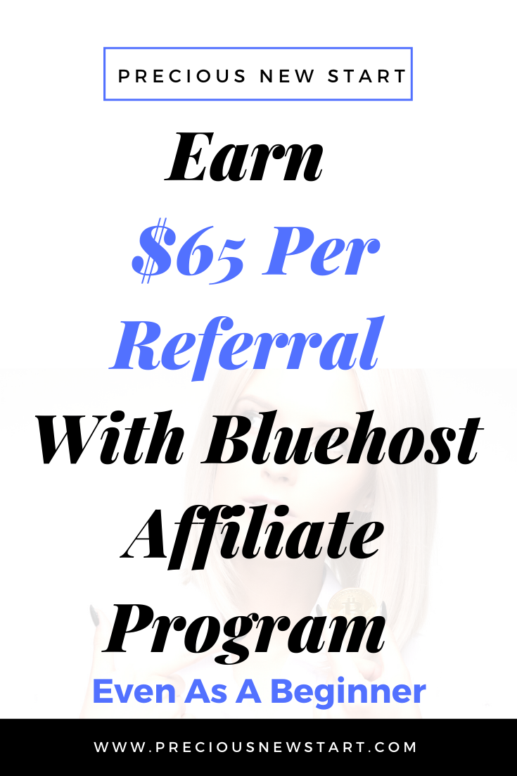 Bluehost Affiliate Program Reviews - Earn $65 Per Referral To Promote Bluehost