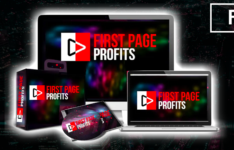 First Page Profits Review - mock up