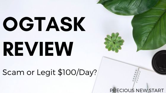 OGTask Review - Is OGTask A Scam or Legit $100 A Day