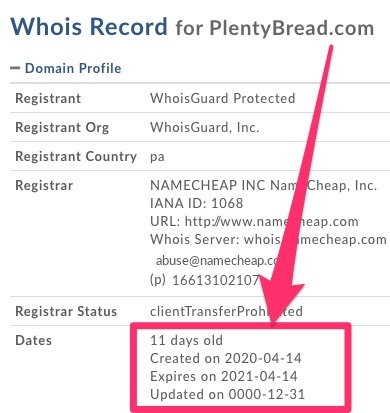 plentybread fake start date